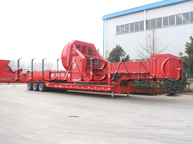 Windmill blade adaptor trailer | rotor blade adapter | China made blade adapter semi trailer | Wind blade haulage trailer