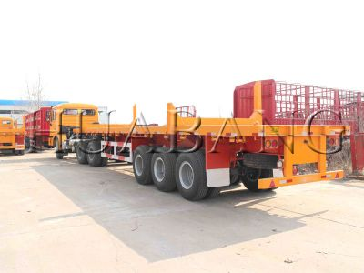 Flatbed Trailer,Logging Trailer,Semi-Trailer